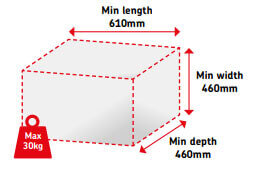 Large Parcel Format - UK
