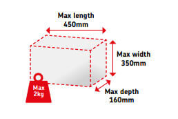 Small Parcel Format - UK